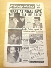 MELODY MAKER 1957 MARCH 23 EDDIE FISHER PERAL BAILEY JAZZ BIG BAND SWING