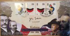 Benham 6.4.2004 Entente Cordiale FDC Signed JULIAN FRETWELL-Diplomatic Service