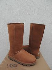 UGG Classic Tall Essential Chestnut Lammfell Stiefel, Damen US 8/EUR 39 ~ NIB
