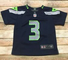 Seattle Seahawks Jersey Nike Russell Wilson Toddler 2T Infant Blue NFL Football