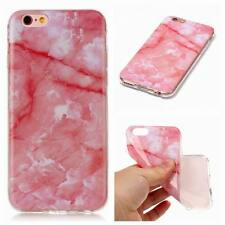 Marble Texture Pattern Soft Rubber Silicone Case Cover For iPhone 8 6s 7 Plus X
