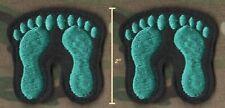 "USAFSOC PJ COMBAT PARARESCUE PEDRO vêlkrö 2"" 2-TAB: Jelly Green Giant Footprint"