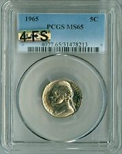1965 JEFFERSON NICKEL MS65 PCGS MAC 4 FULL STEPS 4FS,TOUGH YEAR FOR STEPS,BEAUTY