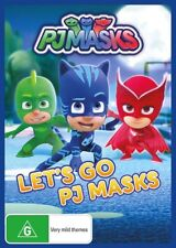 PJ Masks - Let's Go DVD R4 New Sealed