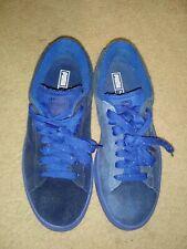 PUMA🔹True Blue 🔹Suede Low Top Sport Court Shoes Size 5.5
