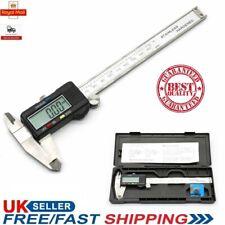 """6"""" Digital Vernier Caliper Micrometer Gauge LCD Screen Electronic Display Tool"""