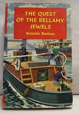 Vintage The Quest of the Bellamy Jewels Natalie Barkas Peal Press HB DJ c1960s