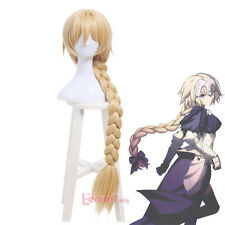 Fate/Grand Order Jeanne d'Arc Blonde Long Braids Styled Hair Wig Cosplay Wigs
