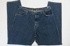 Ermenegildo Zegna Mens Jeans Sz 38 US 48 IT Dark Wash Denim Jean Pants Italy