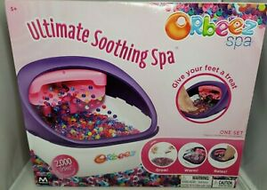 Orbeez spa- ultimate soothing spa for your feet with 2000 beads  NIB, sealed