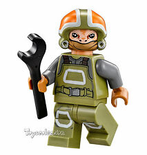 LEGO STAR WARS - MINIFIGURA RESISTANCE GROUND CREW SET 75102 ORIGINAL MINIFIGURE