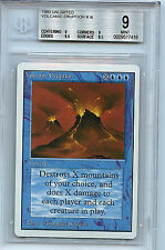 MTG Unlimited Volcanic Eruption BGS 9.0 (9) Mint Magic The Gathering WOTC 7418