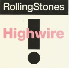 Rolling Stones - Highwire demonstration CD single