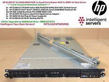 HP DL360 G7 2x L5640 64GB P410i 1x Quad Port Adapter DVD 2x 460W 1U Rack Server