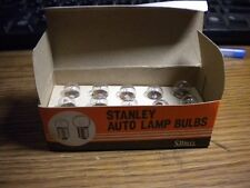 NOS Stanley A223 Speedo Speedometer Light Bulb Lucas Screw in Type no. 987 12v3w