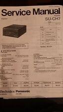 Original Service Manual Technics Amplifier SU-CH7