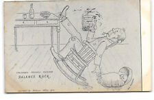 Comic-Artist-Richard Willis-Dick Melbourne-Colorado Rock-Baby-Antique Postcard