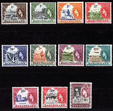 BASUTOLAND 1961-63 DEFINITIVES SG69/79 MNH