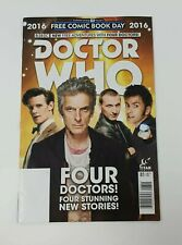 Doctor Who Comic Book Day 2016 Adventures With Four Doctors 01 Jun '16 Titan New