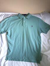 New listing Polo Ralph Lauren Mens Large Light Green Polo Style Shirt