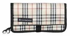 MESSERMEISTER #M-0 10 pocket plaid padded tool gadget bag knife roll BRAND NEW !