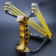 High Velocity Pro Steel Catapult Hunting Wrist Slingshot Brace Sniper tool