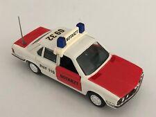 "GAMA BMW 528i E28 Red & White ""Notarzt RUF 110"" 1:43 scale diecast model # 1156"
