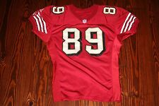 Vintage SAN FRANCISCO 49ers Game Used Worn Football Jersey TAI STREETS Michigan