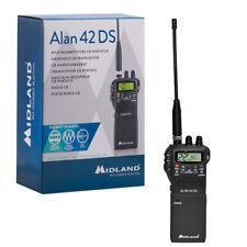 Midland Alan 42 DS, CB-Handfunkgerät mit digitalem Squelch,4W AM/FM