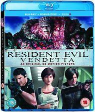 Resident Evil: Vendetta -Blu-ray +Bonus DIsc  Digital UV HD  * New & Sealed *