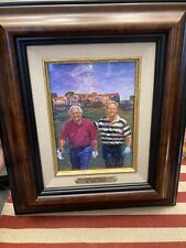 """Legends of Golf"" Lithograph Signed By Medlock, Palmer & Nicklaus"