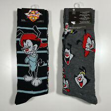 ANIMANIACS Socks - 2 PAIRS 🧦🧦 Size 6-12 - Fast Shipping! Warner Bros