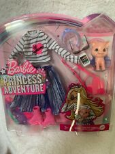 Barbie Princess Adventure,Top, Skirt Bootss, Purse and other Accessories