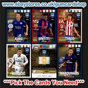 Panini FIFA 365 Adrenalyn XL 2017 (UPDATE VERSION) Please Choose Cards