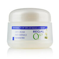 REGAL Q10+ DAY CREAM ANTI WRINKLE WITH BAOBAB'S OIL AND EDELWEISS 50 ml.