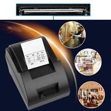 USB Mini 58mm POS Thermal Dot Receipt Bill Printer Set Roll Paper POS-5890C  GA