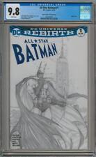 ALL STAR BATMAN #1 MICHAEL TURNER ASPEN SKETCH VARIANT CGC 9.8 DC COMICS