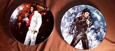 Elvis Presley Bradford Exchange collector plates w certificates of authenticity