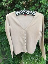 MONSOON LADIES CARDIGAN JUMPER UK SIZE 12 MEDIUM