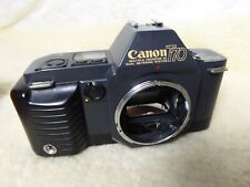 CANON T70 command back version 35mm SLR fully film tested. all working well vgc
