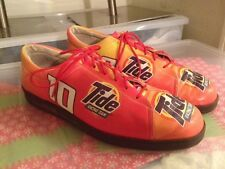 ICON TIDE RACING TEAM WEARABLE POP ART ADVERTISING LEATHER OXFORDS LADIES 9.5