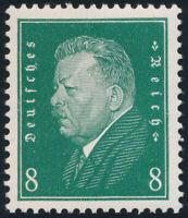 DR 1928, MiNr. 412 z, tadellos postfrisch, Fotobefund Oechsner, Mi. 360,-