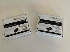 StarTech.com M.2 SSD to 2.5in SATA Adapter Converter SAT32M225 2 pack