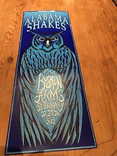 Alabama Shakes - Original Gig Poster - Boston Arms, London February 2012 - RARE