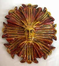 Green Man Mythical Leaf Face Tree Forest Wall Hanging Plaque Greenman