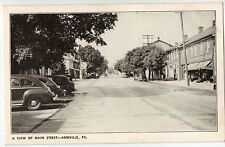 Main Street in Annville PA OLD