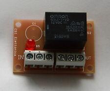 Relè mono scambio 12V con transistor - per antifurto, citofono, apri cancello