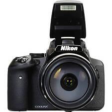 Columbus Day Sale New Nikon Coolpix P900 16.0 Mp Digital Camera - Black