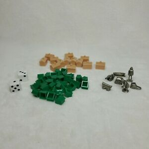 Monopoly National Parks Edition Extra Replacement Parts Tokens Tents Cabins 1998