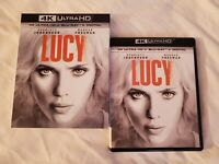 LIKE NEW!! - Lucy: w/RARE OOP Mint Slipcover (4K Ultra HD & Blu-ray)